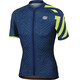 Sportful Graphic 1 Trendy Bike Jersey Shortsleeve Men yellow/blue
